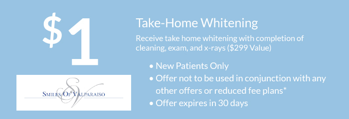 $1 Take Home Whitening Kit